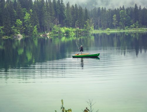 Sport Fishing is an Effective Form of Therapy by Hannah Mackenzie Hunter
